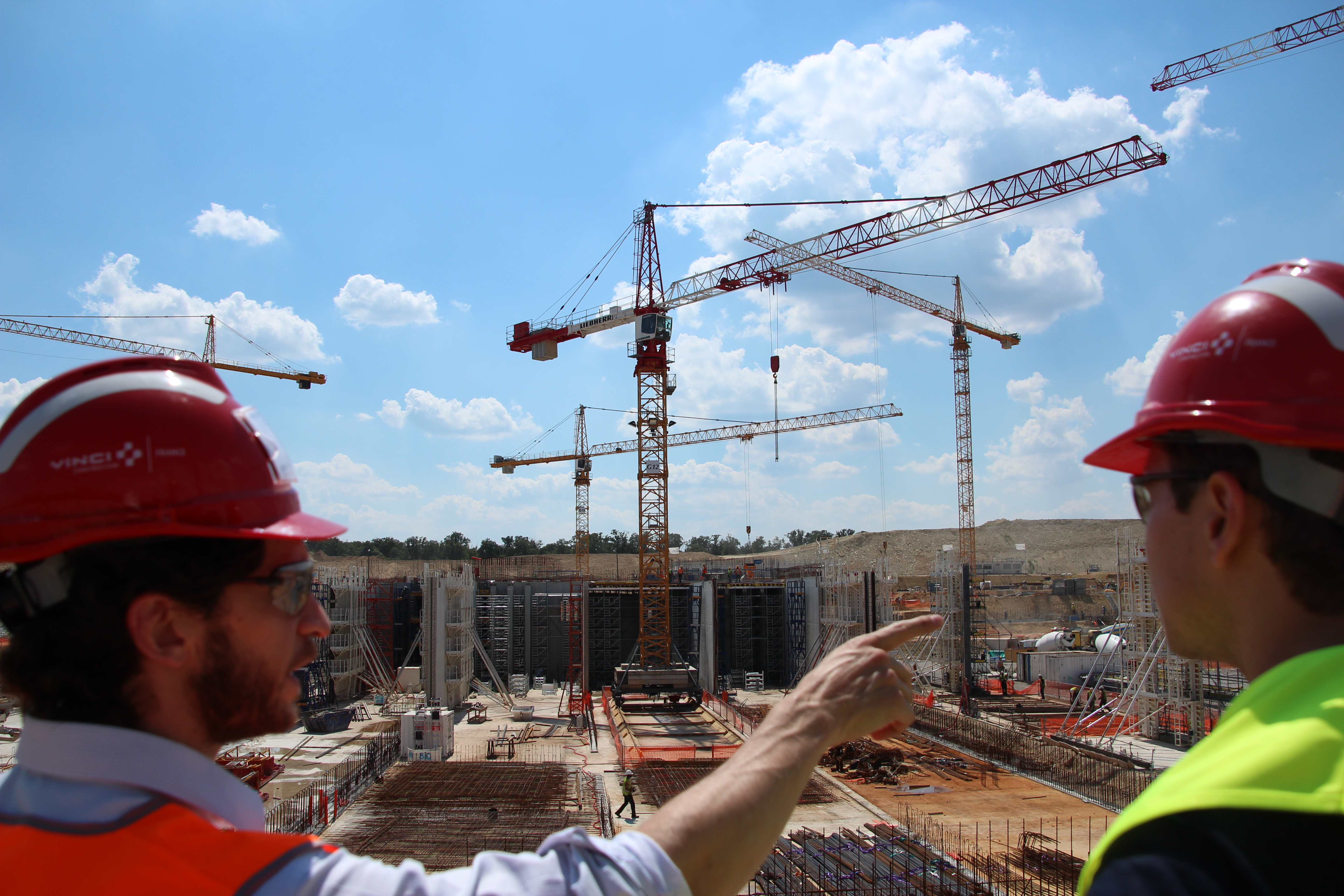 Bâtiments en construction VINCI